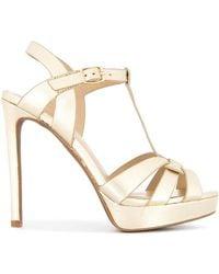 Lola Cruz - Platform Stiletto Sandals - Lyst