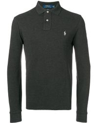 Polo Ralph Lauren - Logo Embroidered Polo Shirt - Lyst