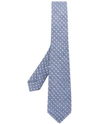 Kiton - Dot Embroidered Tie - Lyst