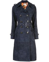 COACH - Printed Lining Trench - Lyst