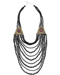 Night Market - Beaded Necklace - Lyst