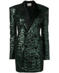 Amen - Sequin Blazer Dress - Lyst