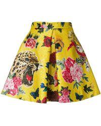 Philipp Plein - Cheetah Print Skirt - Lyst