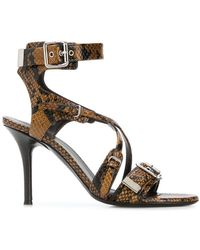 See By Chloé - Buckle Open-toe Sandals - Lyst