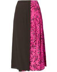 Marni - Cat Printed Full Skirt - Lyst