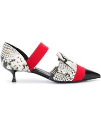 MSGM - Kitten Heel Court Shoes - Lyst