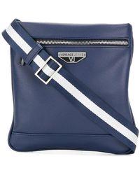 Versace Jeans - Logo Messenger Bag - Lyst
