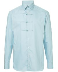 Kolor - toggle Button Shirt - Lyst