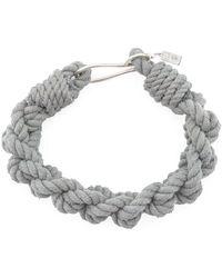 1-100 - Thin Hook Braid Bracelet - Lyst