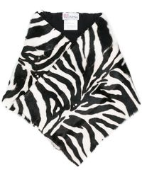 RED Valentino - Tiger Printed Scarf - Lyst