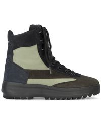 d45eda1a Yeezy - Brown Suede Military Boots - Lyst