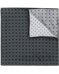 Lanvin Square print scarf - Gris