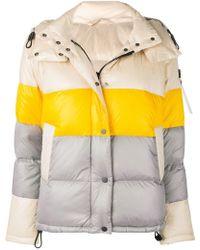 Peuterey - Colour Block Padded Jacket - Lyst