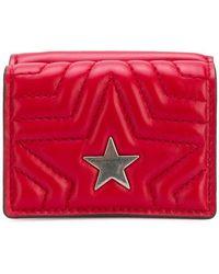 Stella McCartney - Stella Star Flap Wallet - Lyst