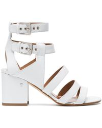 Laurence Dacade - White Rela 70 Strappy Leather Sandals - Lyst