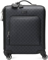 Gucci Horse Print Nylon Wheeled Carry-on Suitcase in Blue for Men - Lyst 61ef5fc918