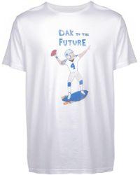 Unfortunate Portrait - Dak To The Future T-shirt - Lyst
