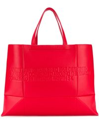 CALVIN KLEIN 205W39NYC - Embossed Logo Tote Bag - Lyst