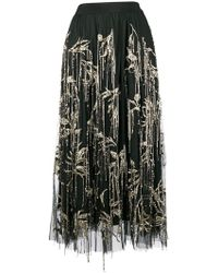 Amen - Embellished Tulle Skirt - Lyst
