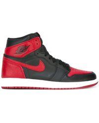 Nike - Air Jordan 1 Retro High Og Banned Sneakers - Lyst