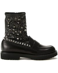 A.F.Vandevorst - Studded Boots - Lyst