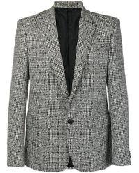 Givenchy - Multi-pattern Floral Effect Blazer - Lyst