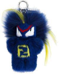 Fendi - Blue Rumi Bug-kun Bag Charm - Lyst