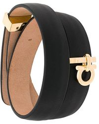 Ferragamo - Wrap-around Gancio Bracelet - Lyst