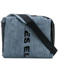 DIESEL - Slashed Logo Belt Bag - Lyst