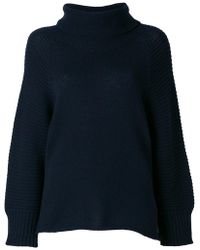 Armani - Turtle Neck Knitted Sweater - Lyst