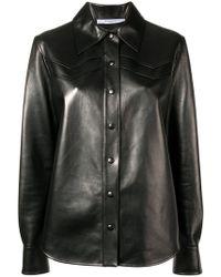 Givenchy - Hemdjacke aus Lammleder - Lyst
