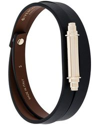 Givenchy - Metallic Bar Wrap Bracelet - Lyst
