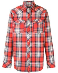 G-Star RAW - Plaid Shirt - Lyst