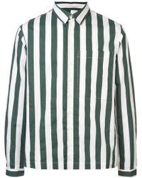 Sunnei - Striped Button Shirt - Lyst
