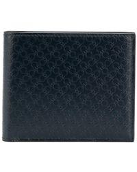 Ferragamo - Double Gancio Texture Wallet - Lyst