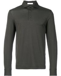 Cruciani - Long Sleeve Polo Shirt - Lyst