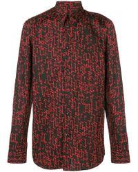 Givenchy - Signature Print Shirt - Lyst