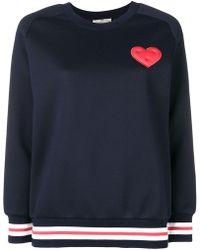 Anya Hindmarch - Heart Patch Sweatshirt - Lyst