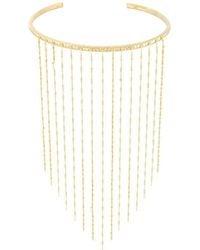 Ivi - 'dalhia' Rail Fringe Necklace - Lyst