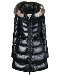 Moncler - Fur-trimmed Quilted Parka - Lyst