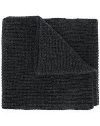 Stone Island - Ribbed Knit Scarf - Lyst