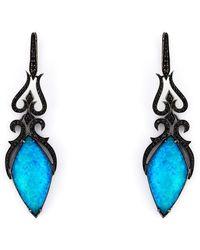 Stephen Webster | 'crystal Haze' Diamond Long Earrings | Lyst