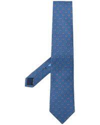 Ferragamo - Ganicini Print Tie - Lyst
