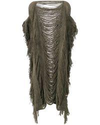 Caravana - Kabil Poncho Dress - Lyst