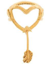 Givenchy - Arrow Heart Ring - Lyst