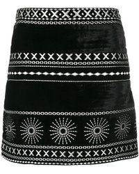 Dodo Bar Or - Printed Mini Skirt - Lyst