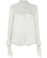 Nobody Denim - Silk Cuff Shirt Fine Stripe - Lyst