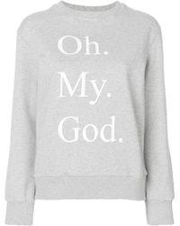 Peter Jensen - Oh My God Sweatshirt - Lyst