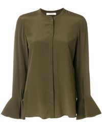 Dorothee Schumacher - Concealed Front Blouse - Lyst