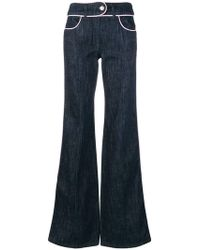 Moschino - Flared Jeans - Lyst